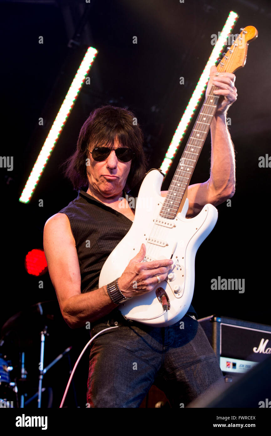 Rock 'n'Horsepower 2014 Jeff Beck . English rock guitarist.  Former  member of The Yardbirds , Jeff also - Stock Image