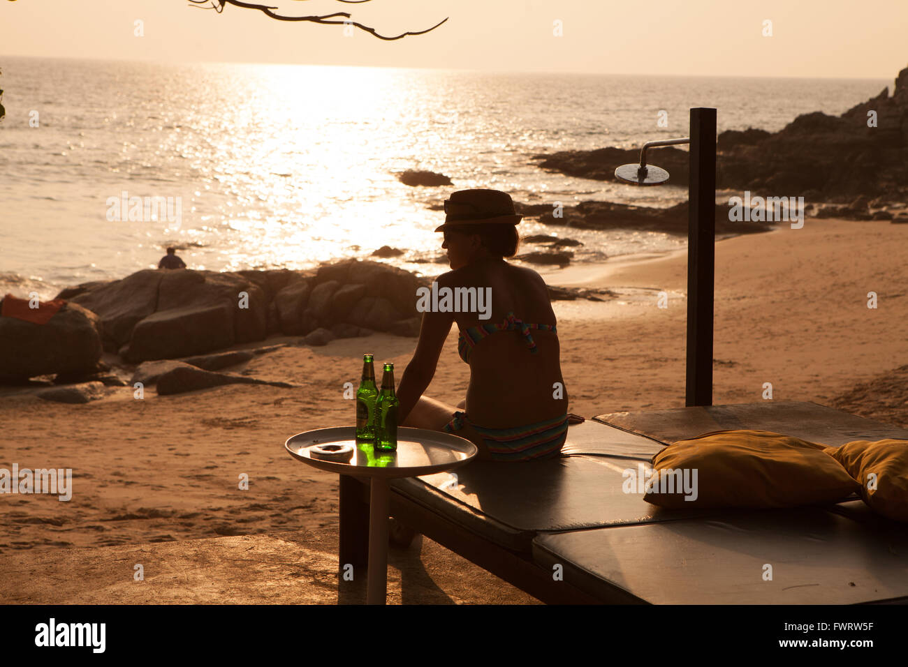 Surin Beach, Phuket Thailand Stock Photo
