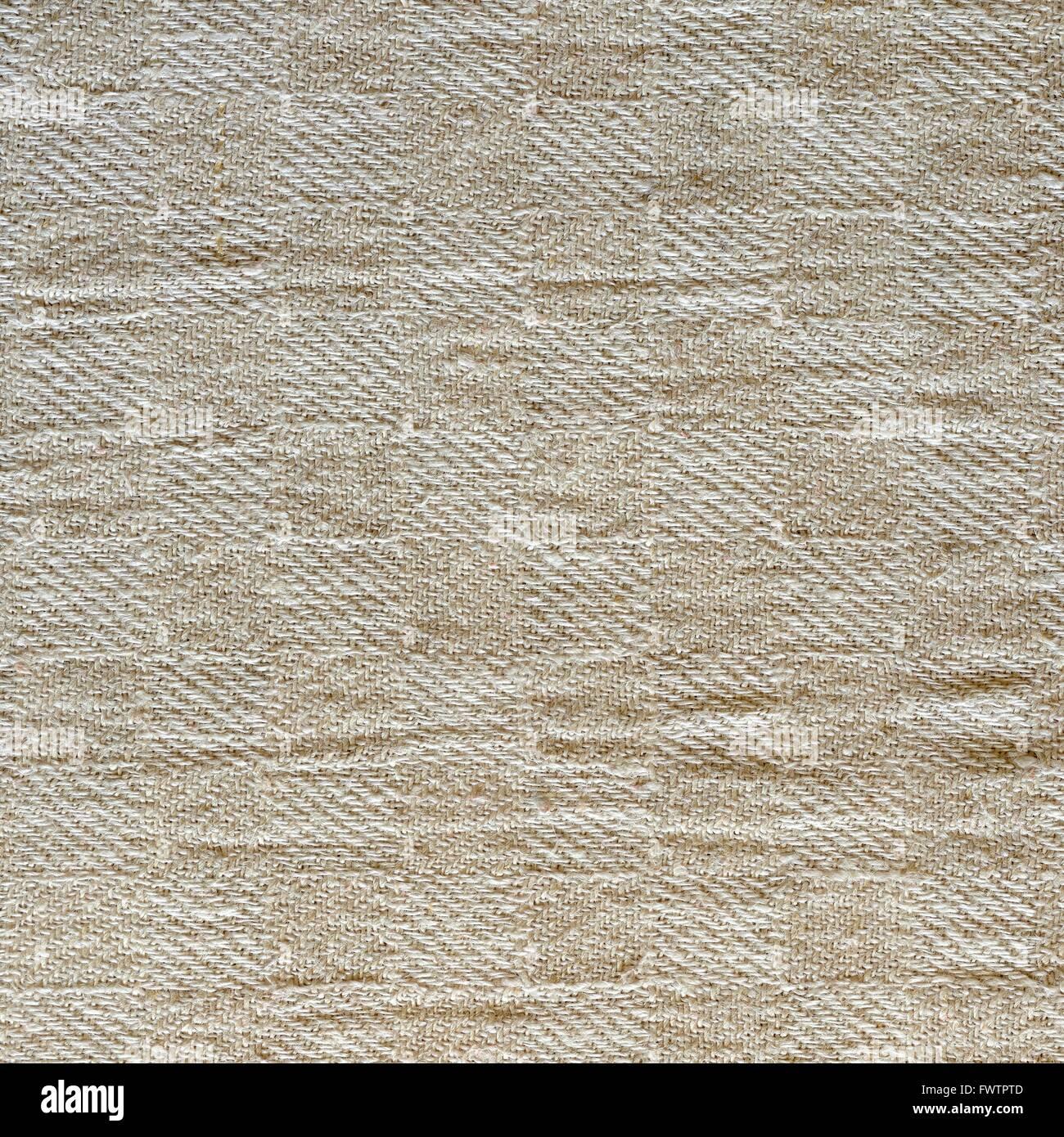 Linen tablecloth texture wallpaper - Stock Image