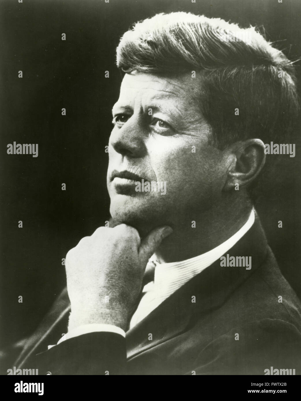 The American President John F. Kennedy - Stock Image