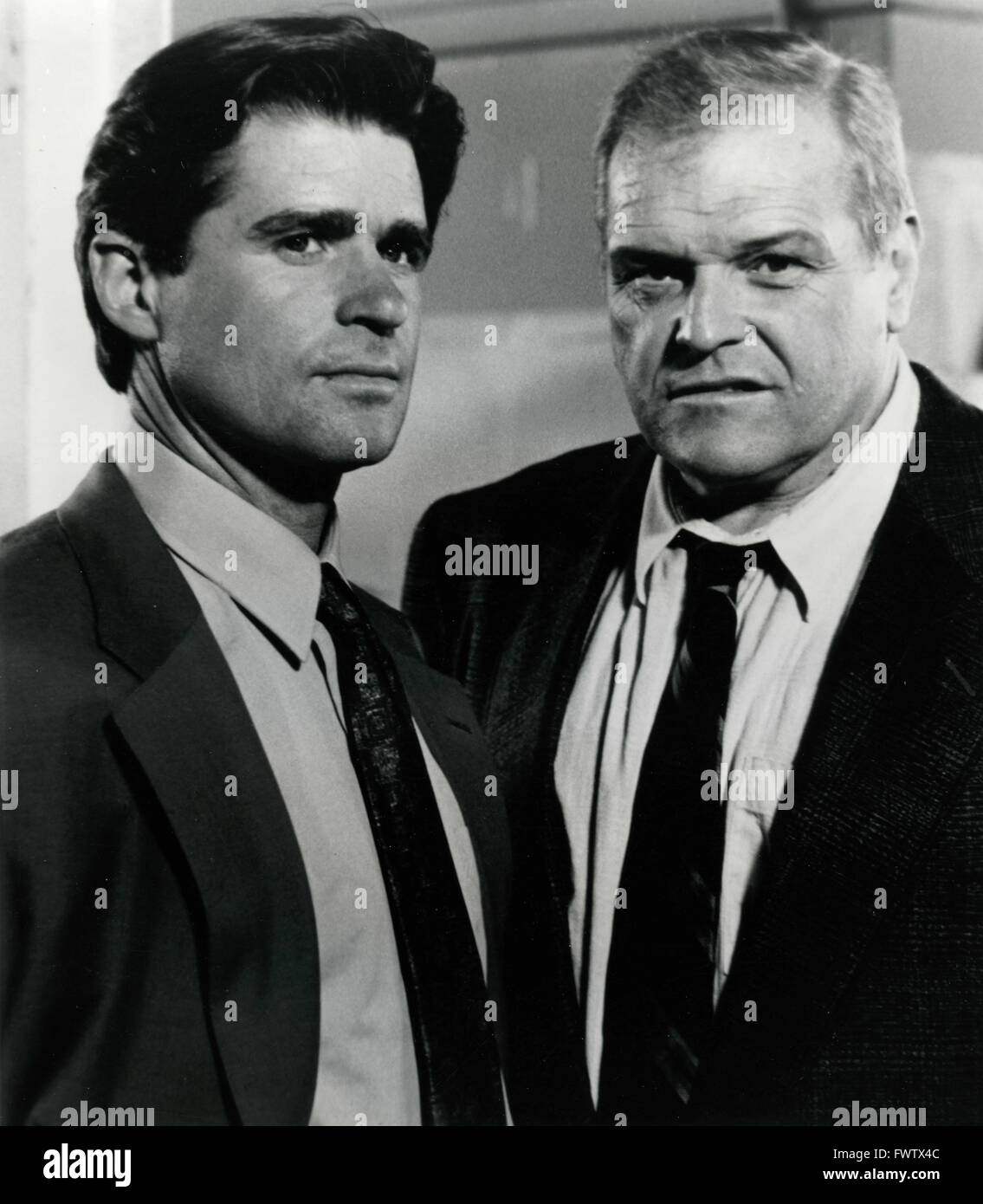 Treat Williams and Brian Dennehy in the film Deadly Matrimony, USA 1992 - Stock Image