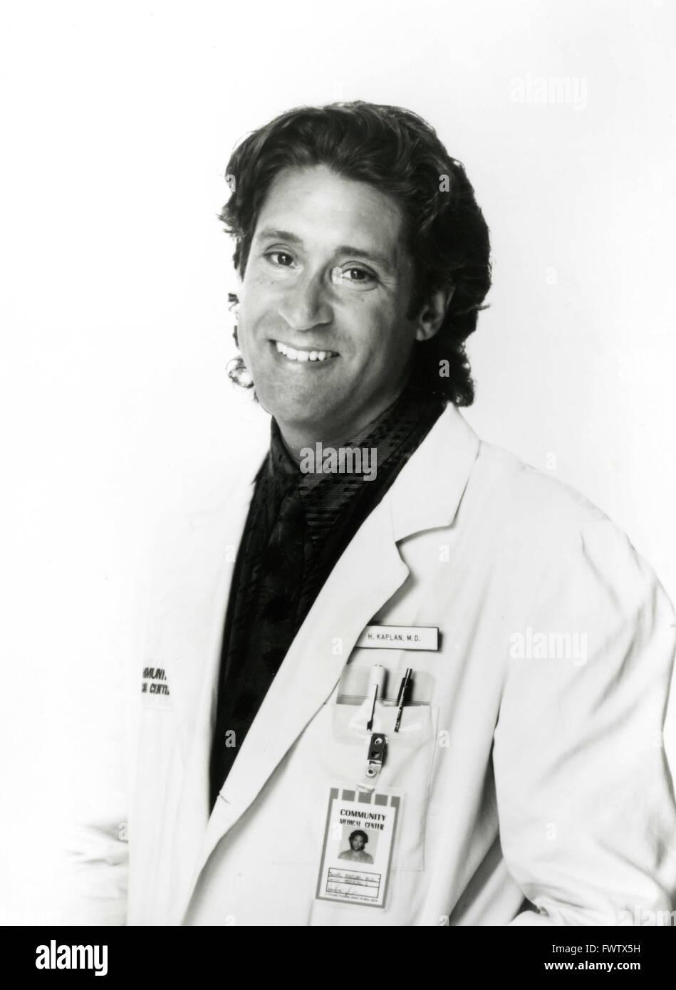 Kip Gilman as Dr. Hank Kaplan Nurses in the TV series, USA 1993 - Stock Image