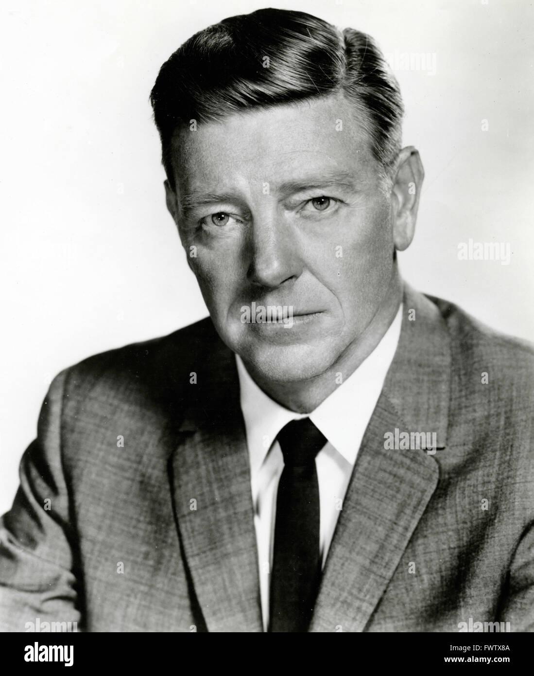 Paul Langton as Leslie Harrington in Peyton Place, USA 1964 - Stock Image