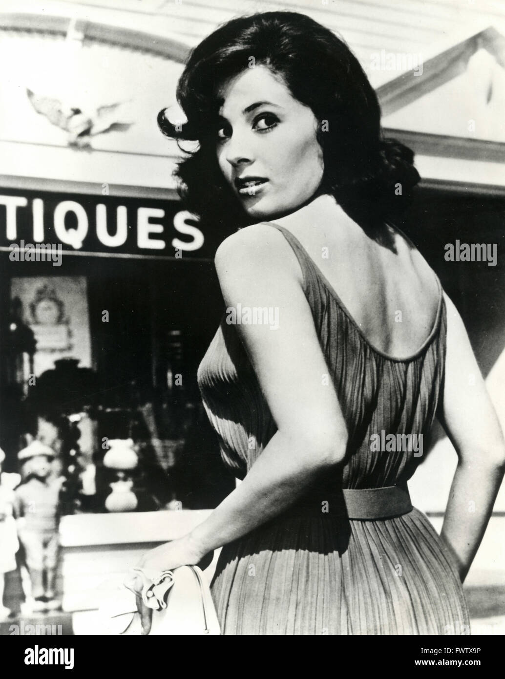 Barbara Parkins as Betty Anderson in Peyton Place, USA 1964 - Stock Image