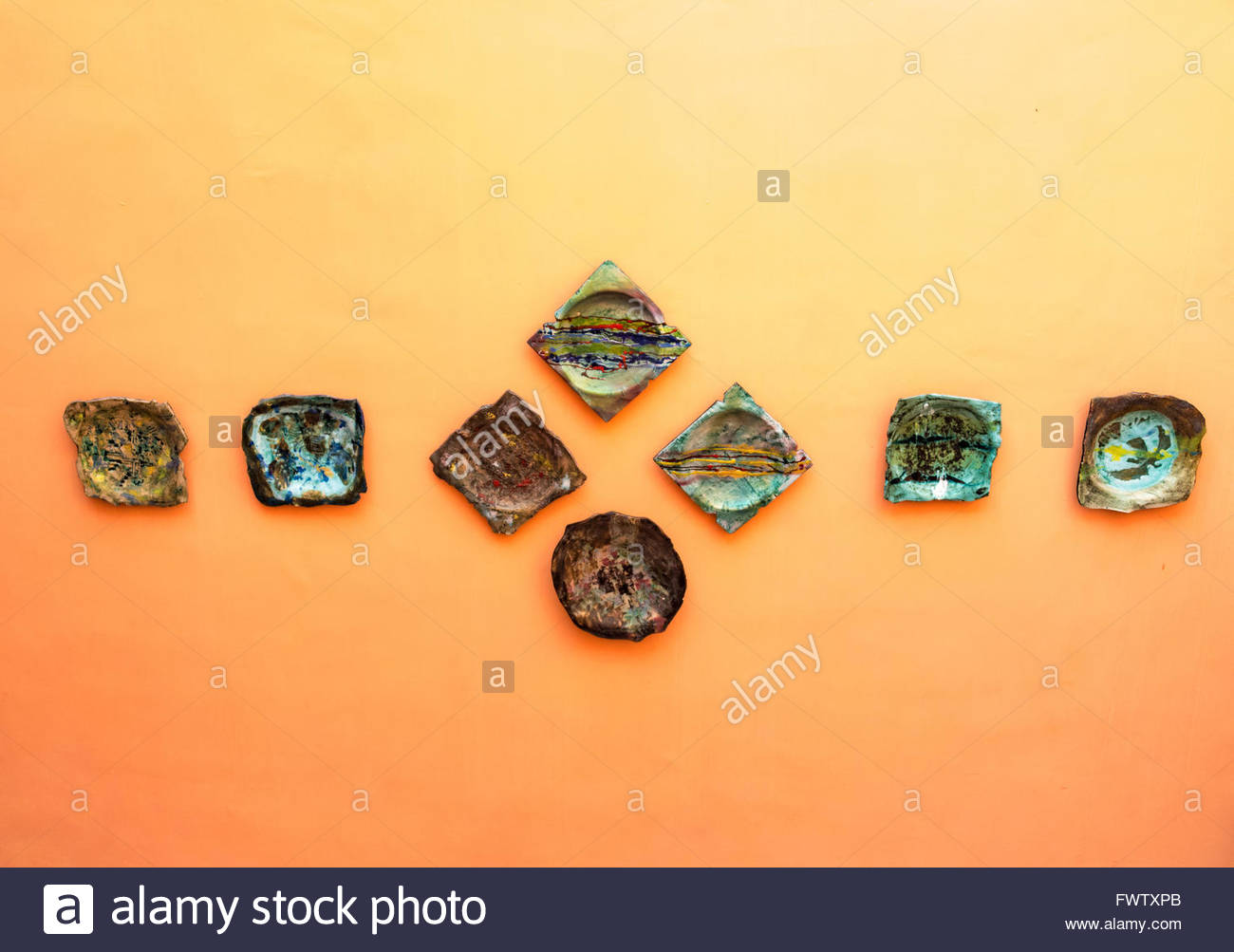 Decorative Wall Plates Stock Photos & Decorative Wall Plates Stock ...