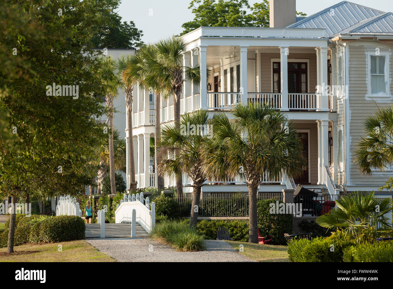 Charleston style homes in the high end planned community for Charleston style homes