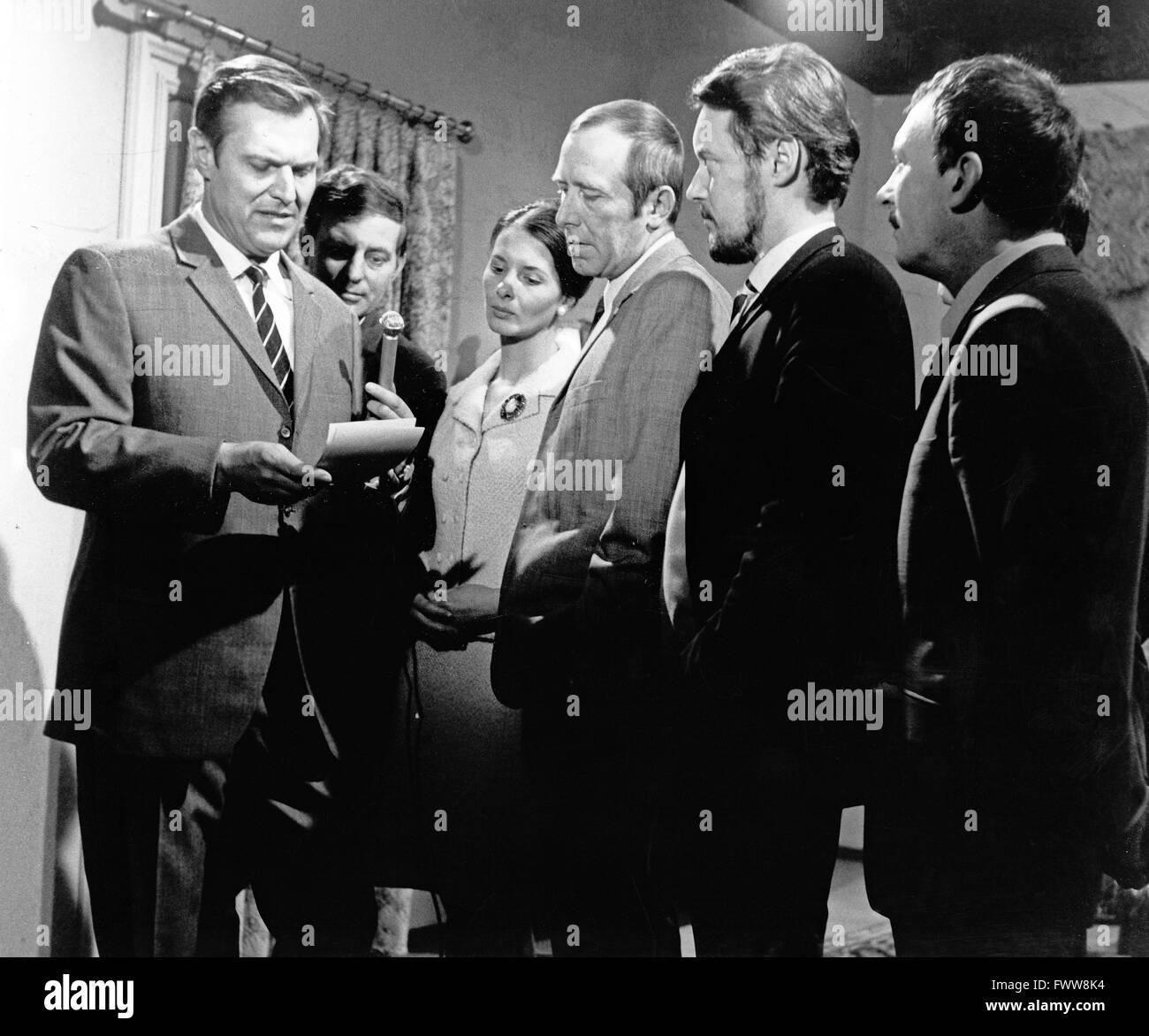 Nennen Sie mich Alex, Fernsehfilm, Deutschland 1969, Regie: Paul May, Darsteller: (v. l.) Heinz Weiss, Harald Eggers, - Stock Image