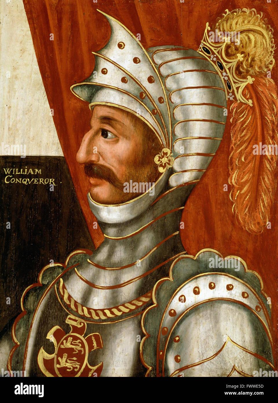 British - William the Conqueror - Stock Image