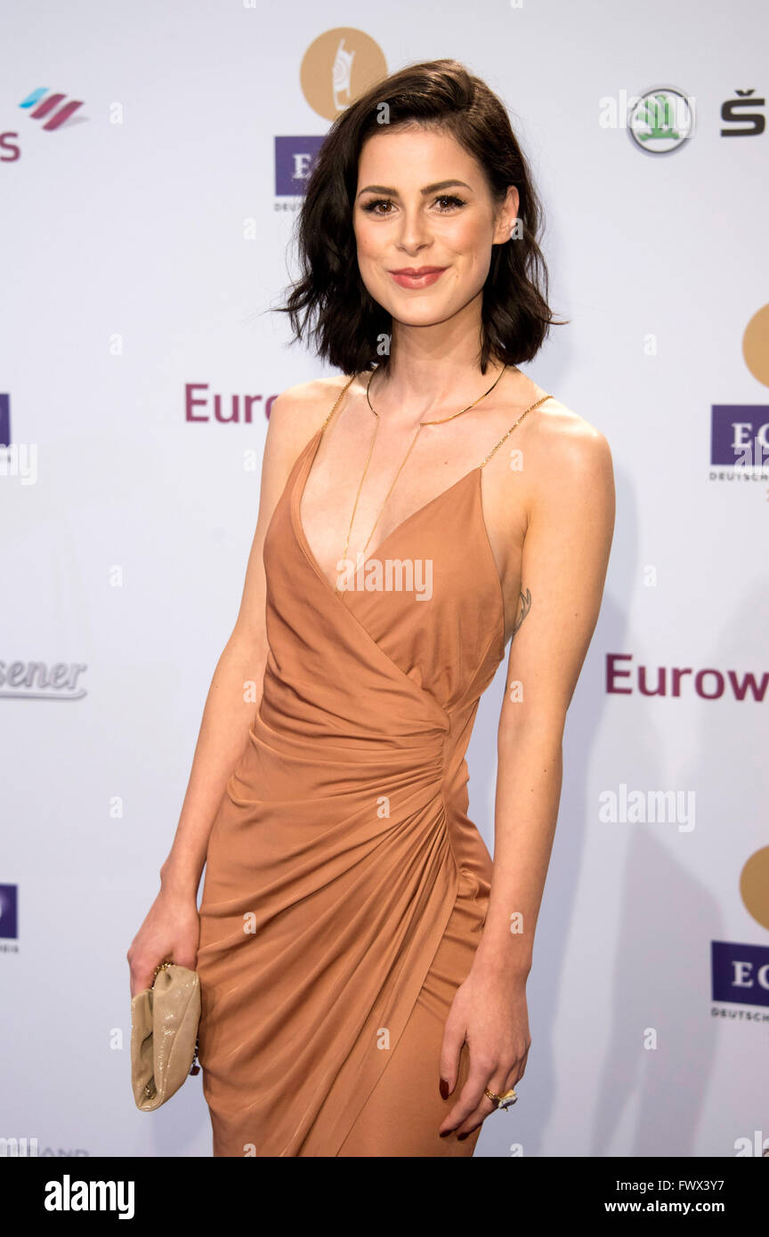 Lena Meyer Landrut Echo Award 2016 Stock Photos Lena Meyer Landrut