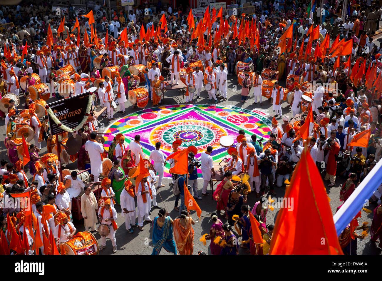 Gudi Padwa Festival Gudi Padwa Stock Photo...
