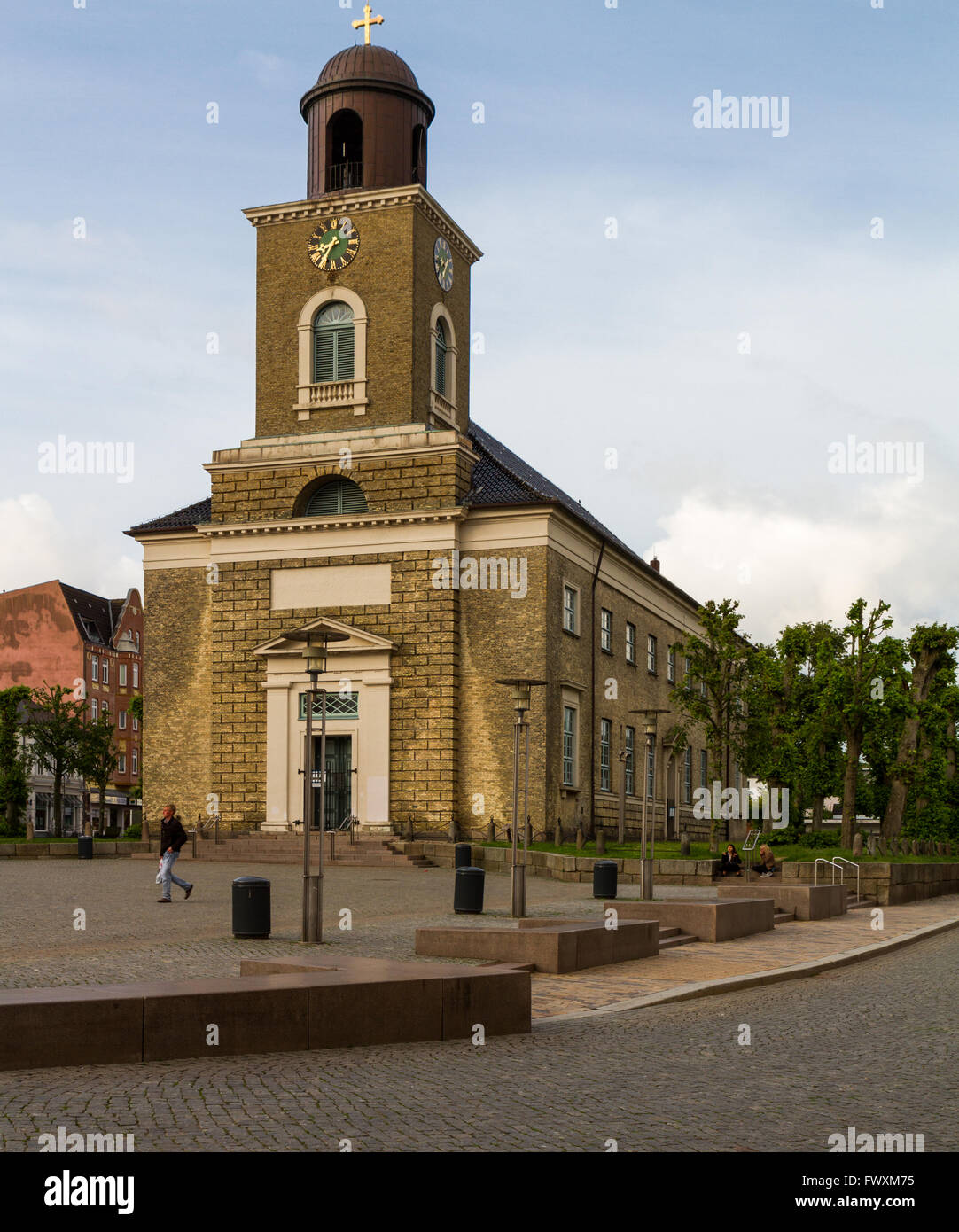 Church in Husum - Stock Image