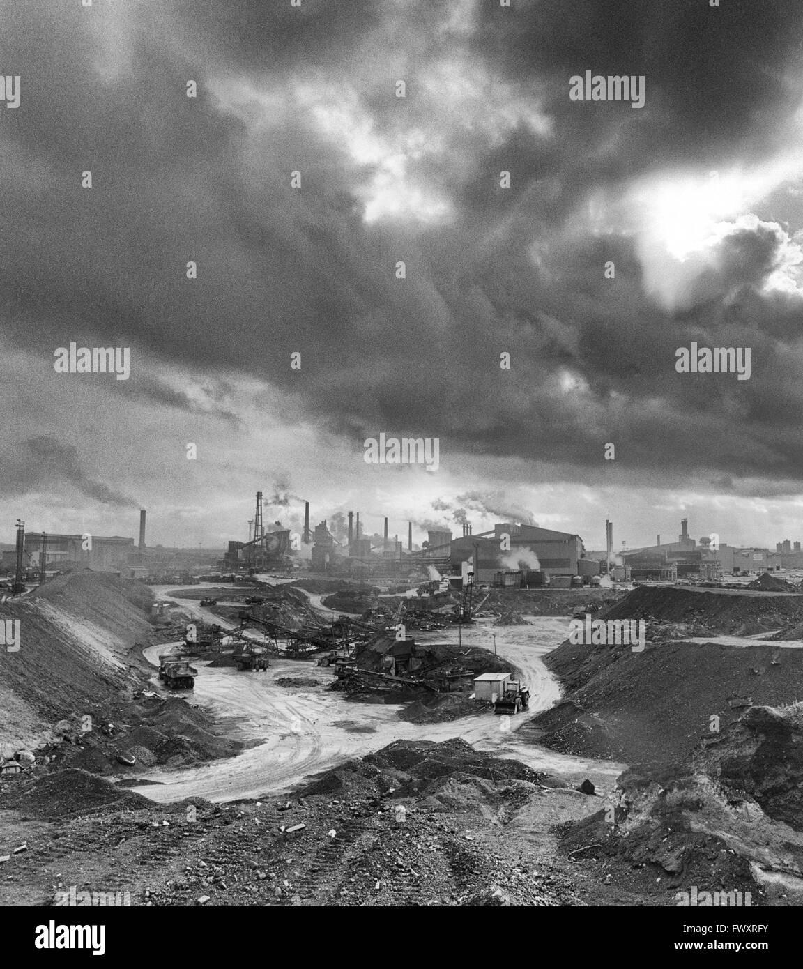 Ravenscraig steel works, Motherwell, Scotland. 1989 - Stock Image