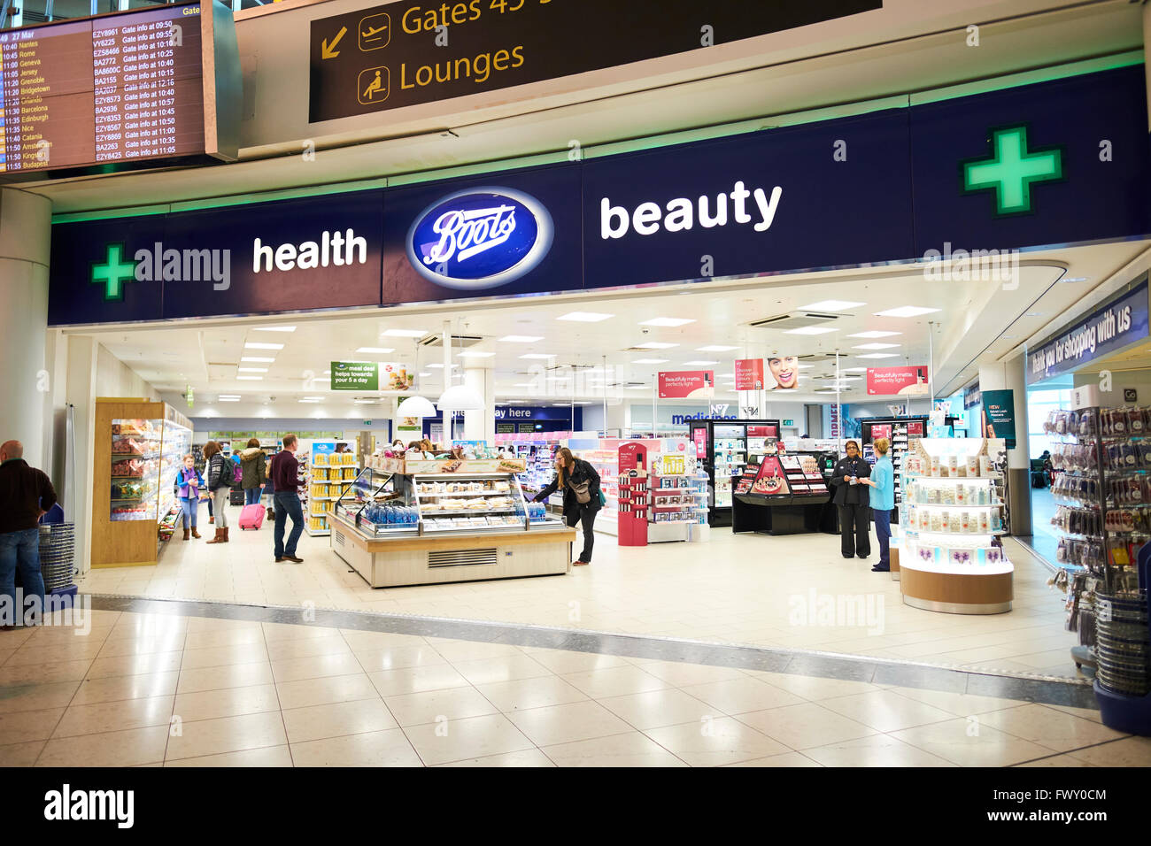 c128203a3d2 Boots Health And Beauty Duty Free Shop North Terminal Gatwick Airport West  Sussex London UK