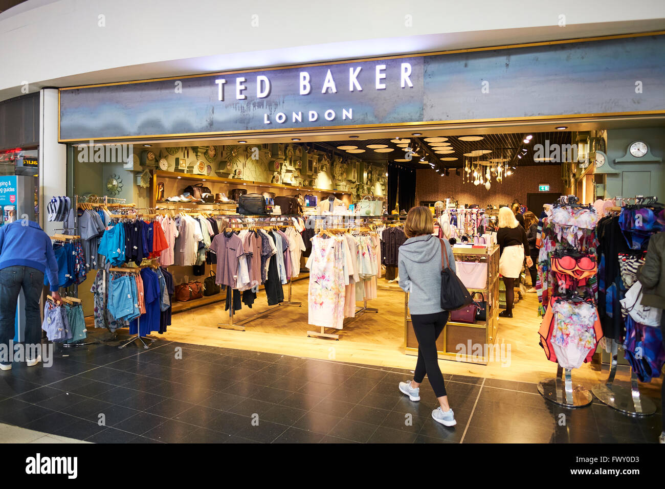 7f2d99dbe4b Ted Baker Clothing Duty Free Shop North Terminal Gatwick Airport West  Sussex London UK