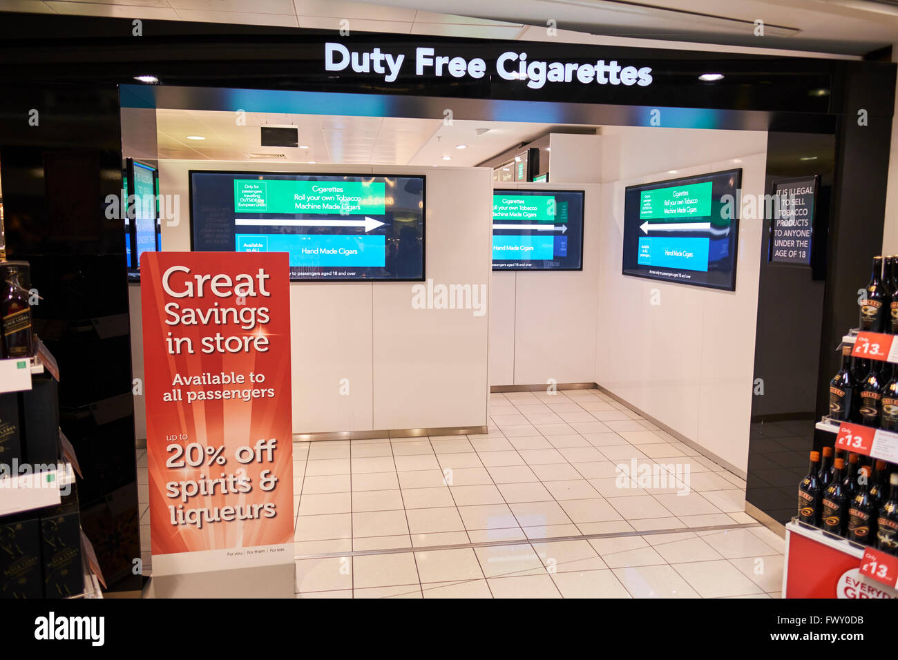 How much do cigarettes cost in London