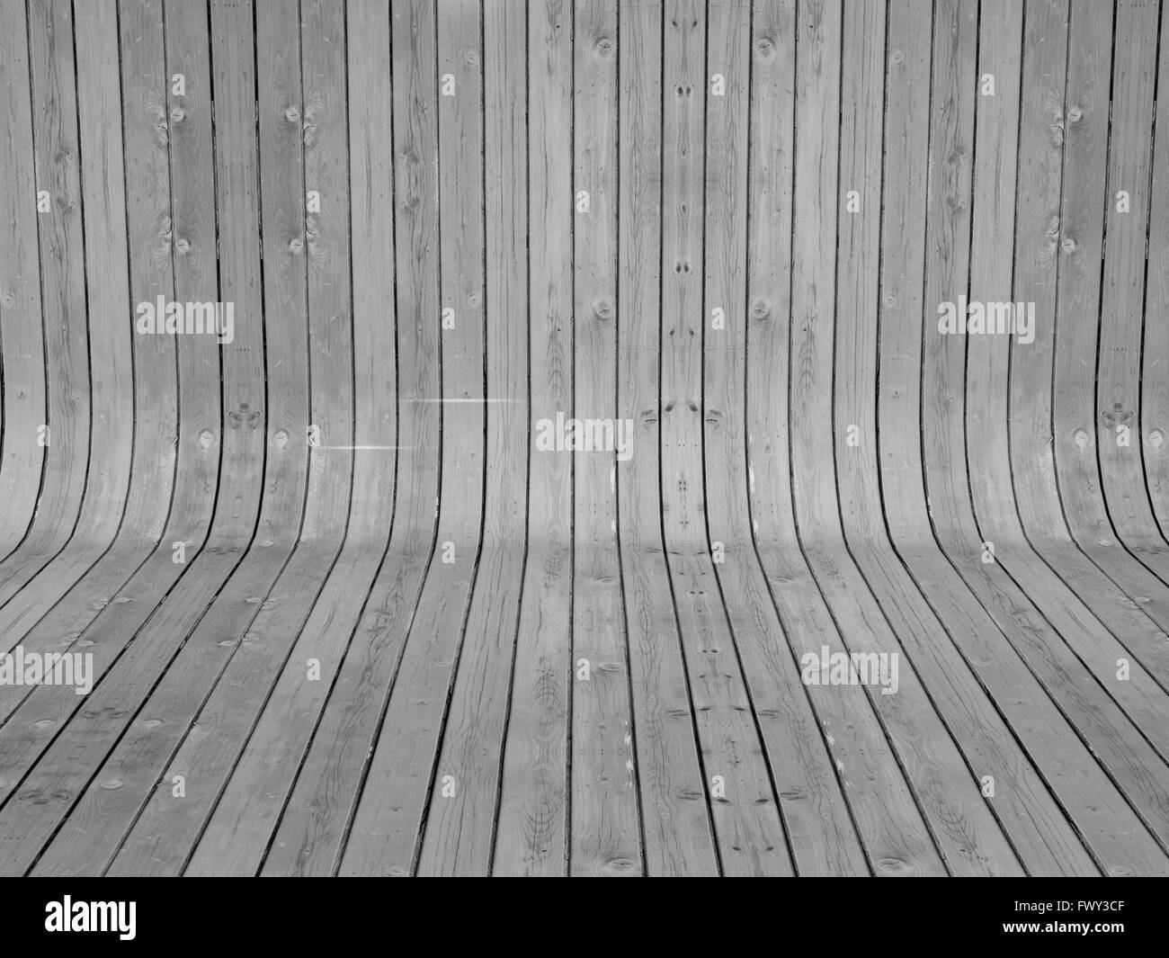 close up of wood planks texture background. - Stock Image