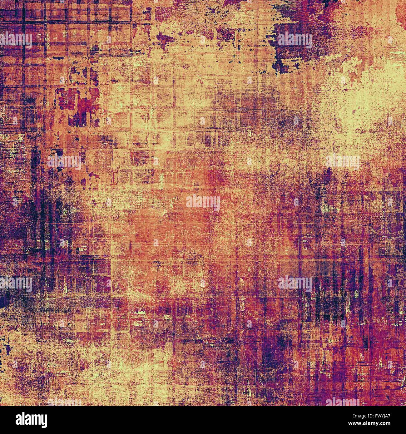 Art Grunge Texture, Vintage Abstract Background For Creative Design. With  Different Color Patterns: Yellow (beige); Brown; Red (orange); Purple  (violet); Pink Stock Photo - Alamy