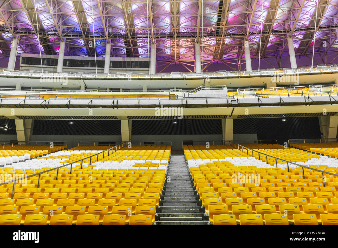 Haixinsha Guangzhou Asian Games venues panorama - Stock Image