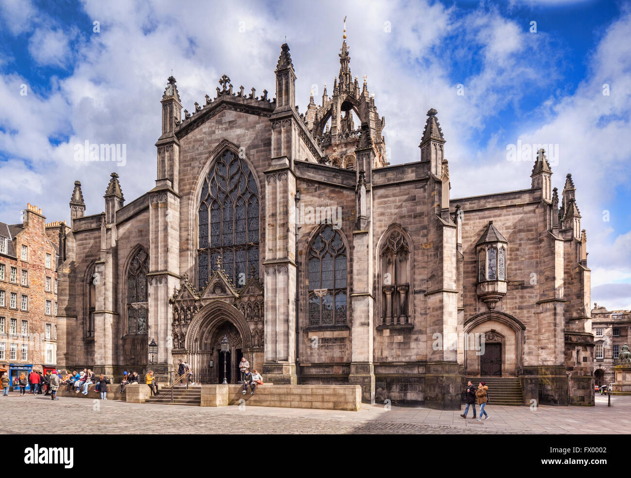 St Giles Cathedral, Edinburgh, Scotland, UK Stock Photo
