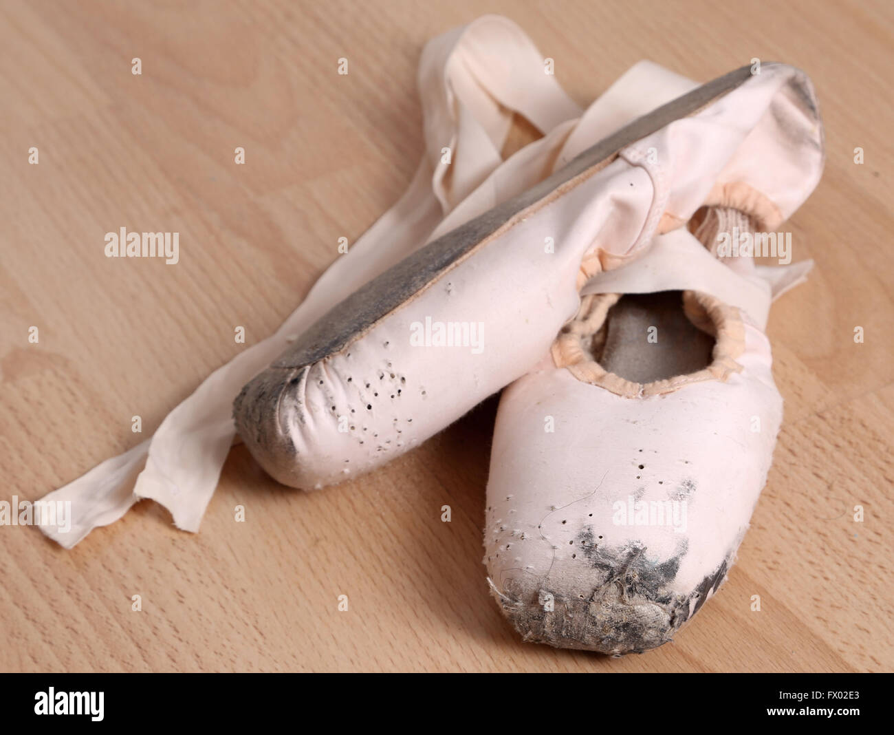 261281f01 Dirty Ballet Shoes Stock Photos   Dirty Ballet Shoes Stock Images ...