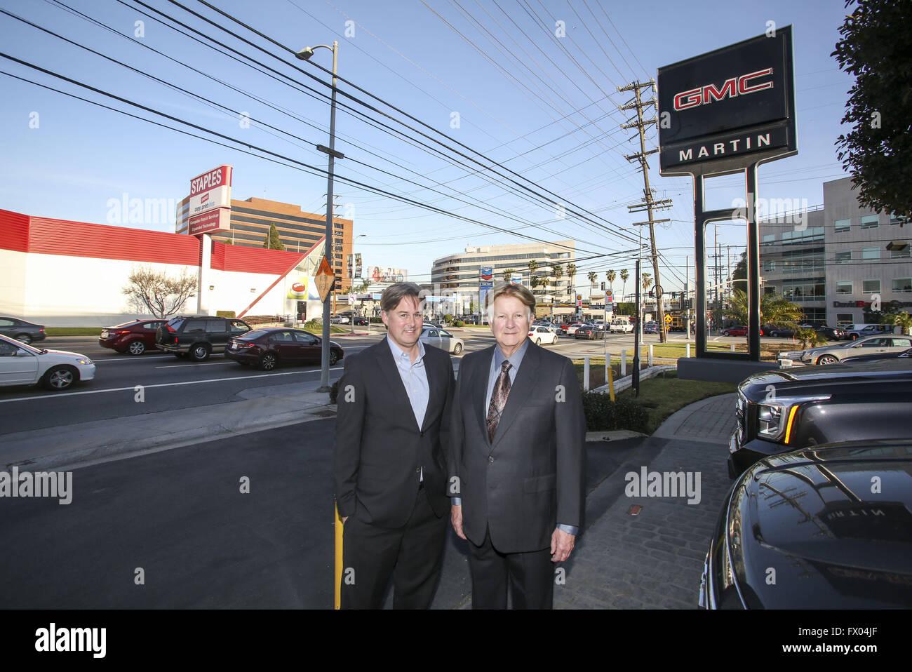 Martin Automotive Group >> Los Angeles California Usa 3rd Feb 2016 Dan Martin And