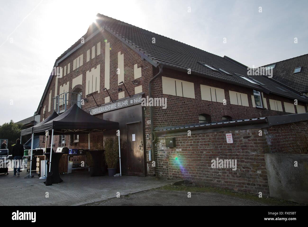 . Bochum  Germany  28th Feb  2016  the Grillakademie  where a Stock