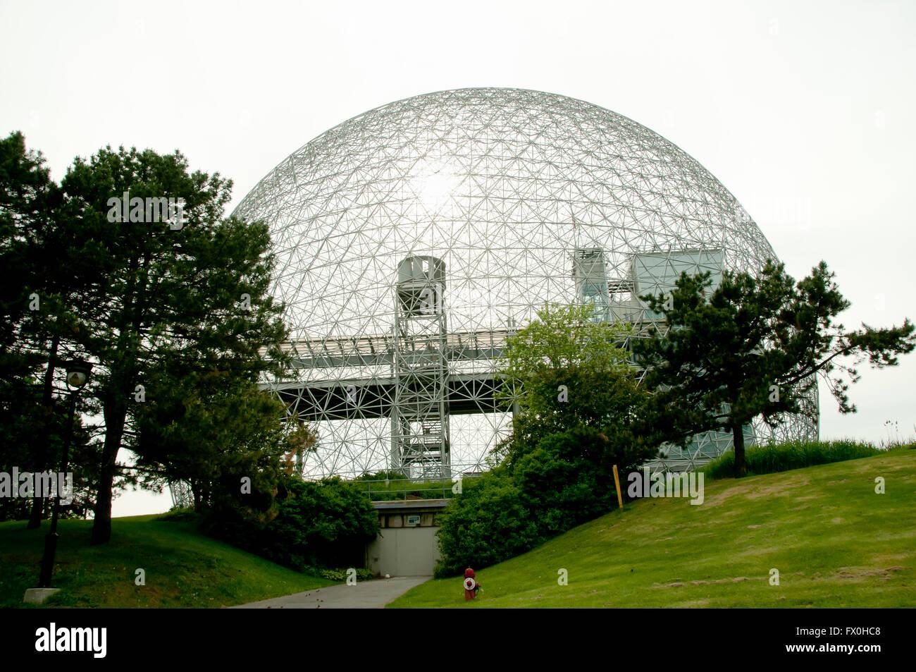Biosphere - Montreal - Canada - Stock Image