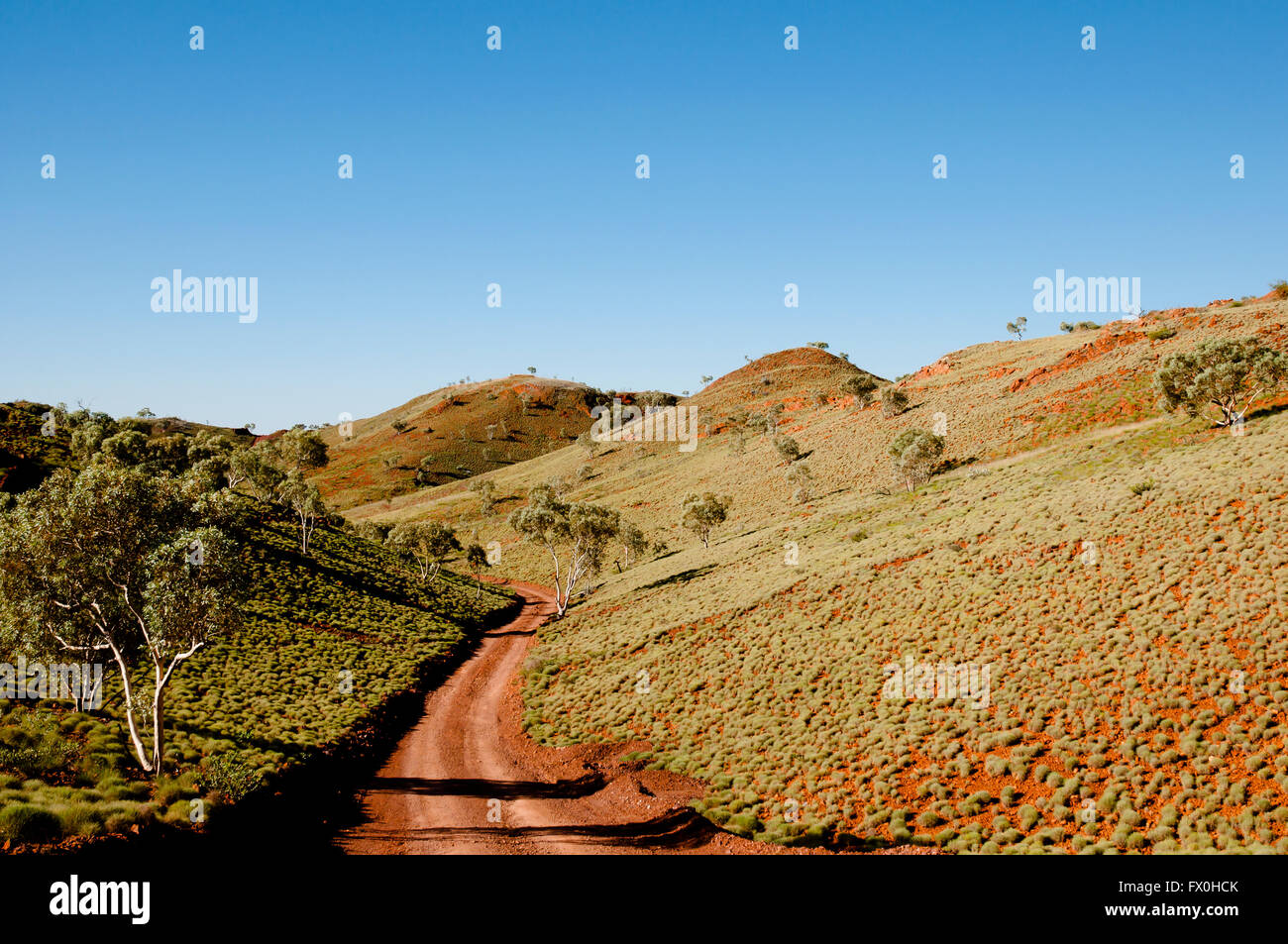Offroad Track - Outback Australia - Stock Image