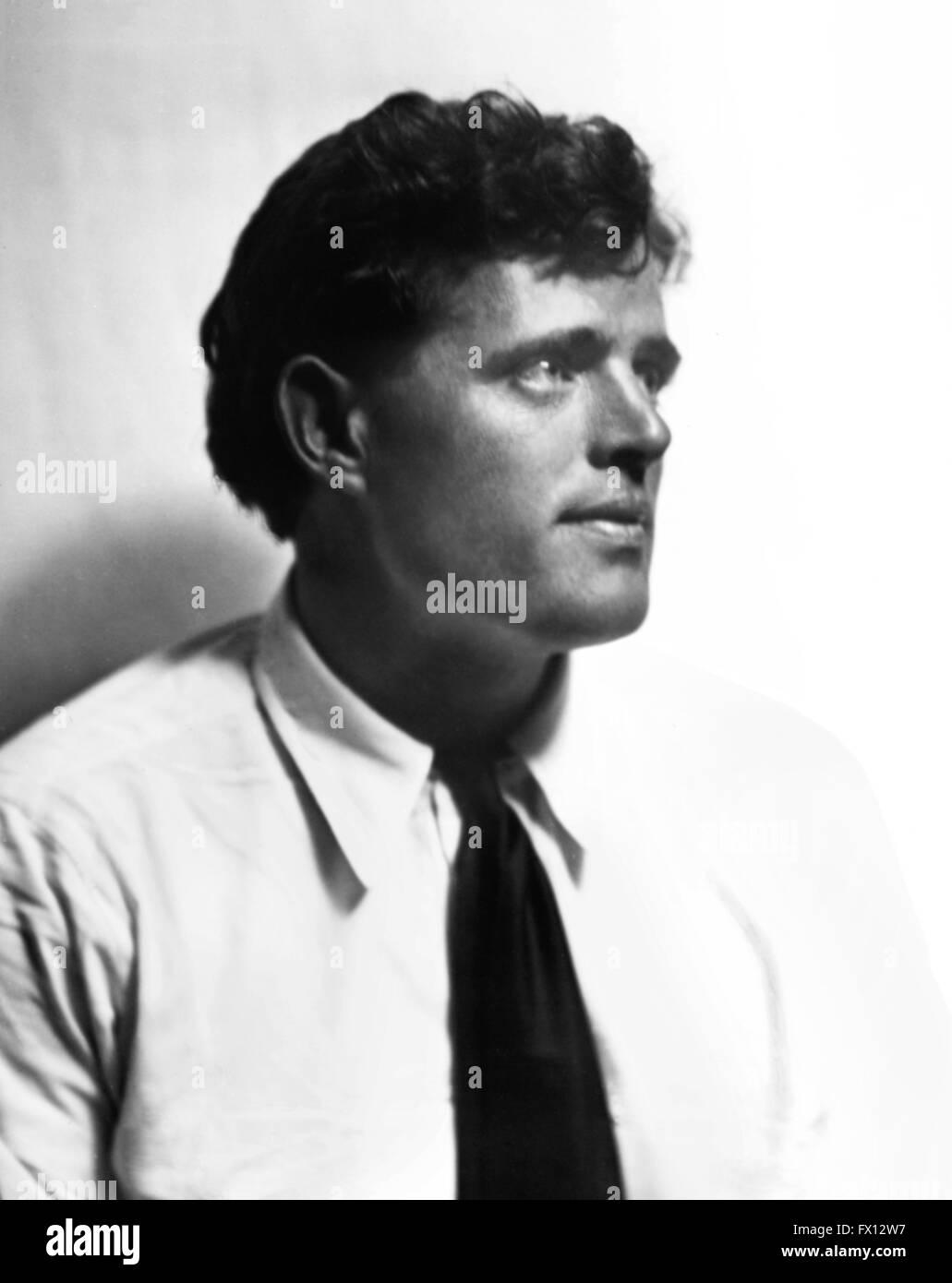 Jack London (1876-1916)  c.1906-1916. - Stock Image