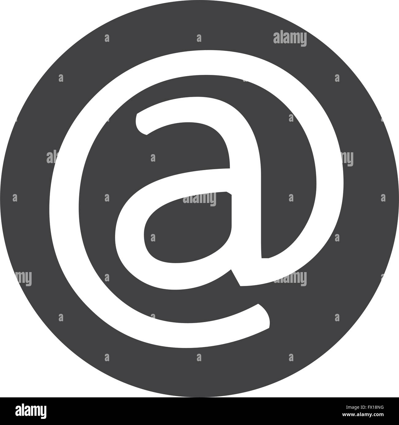 Email Symbol Icon Stock Vector Art Illustration Vector Image