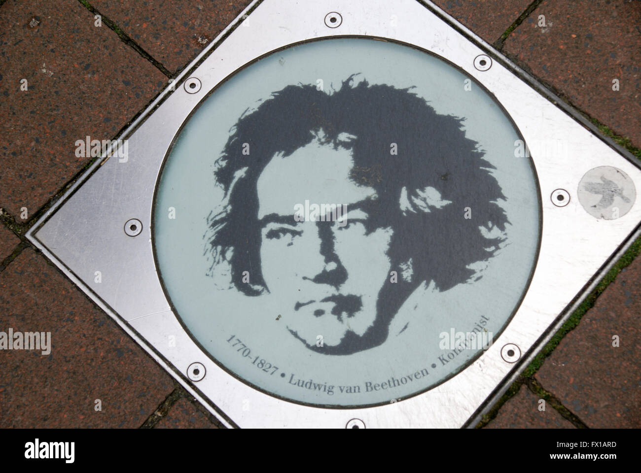 Bonn, Germany Beethoven's birth house and museum - Stock Image