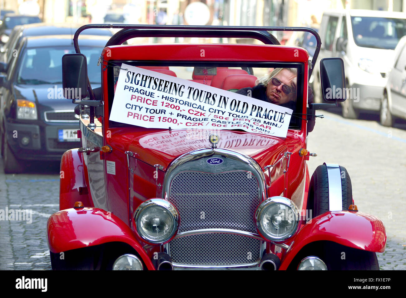 Prague Vintage Car Stock Photos & Prague Vintage Car Stock Images ...