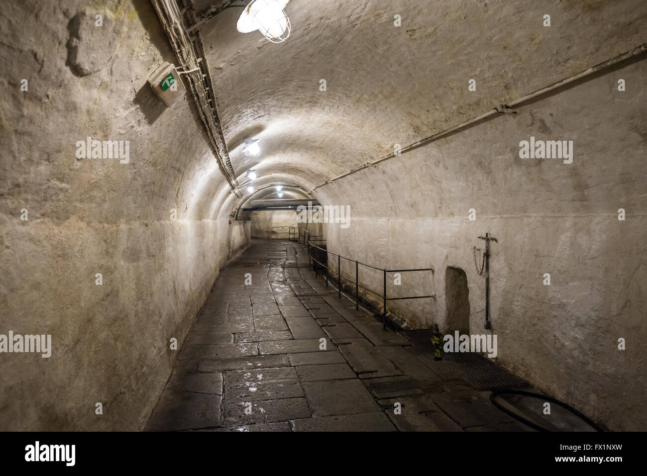 c7a994cfcbb806 Underground corridor in Pilsner Urquell Brewery in Pilsen city ...