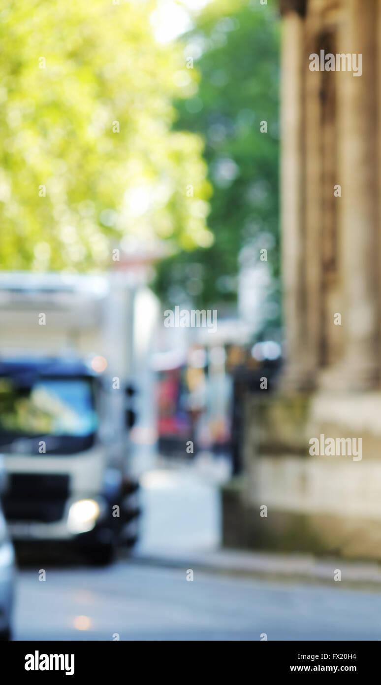 City blur - Stock Image