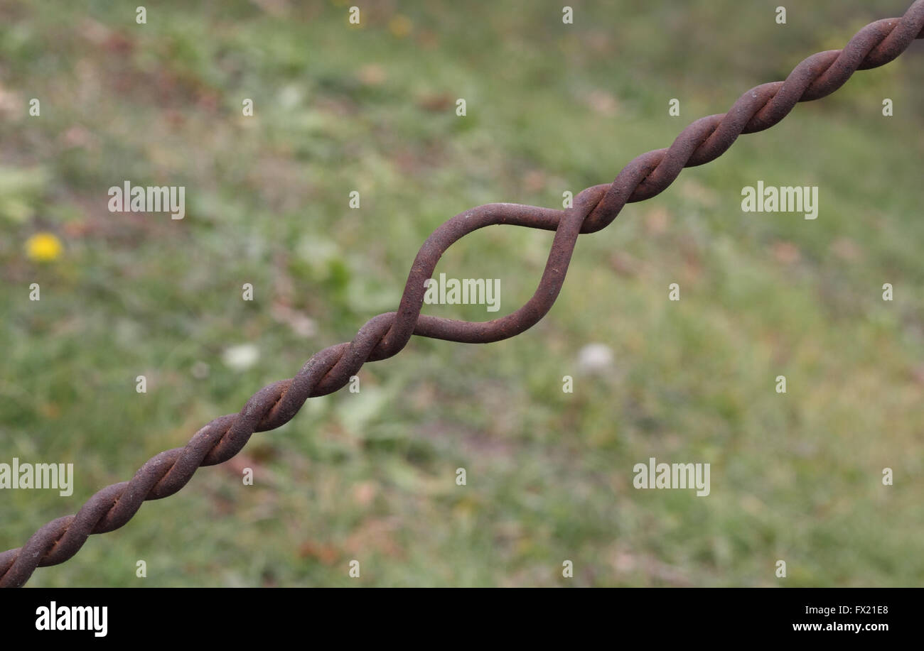 Twist Old Rusty Stock Photos & Twist Old Rusty Stock Images - Alamy