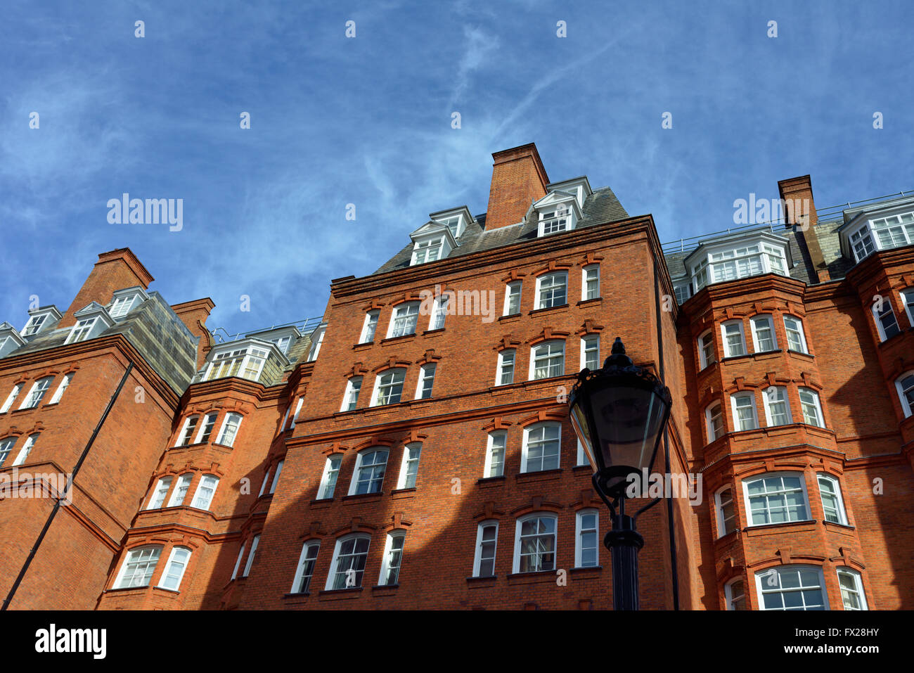 Albert Hall Mansions, Kensington Gore, Kensington and Chelsea, London, United Kingdom Stock Photo