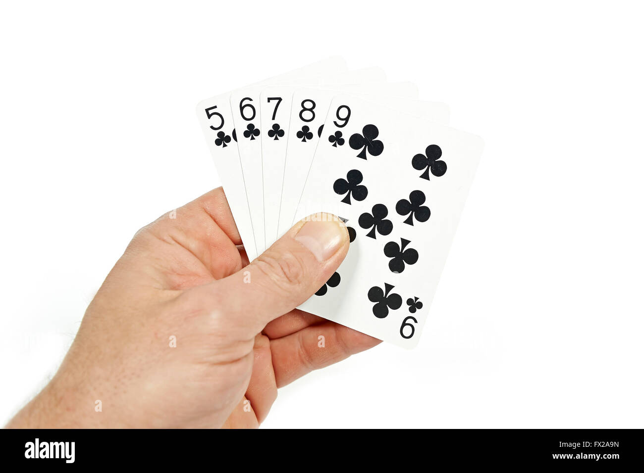 how to play straight flush draw