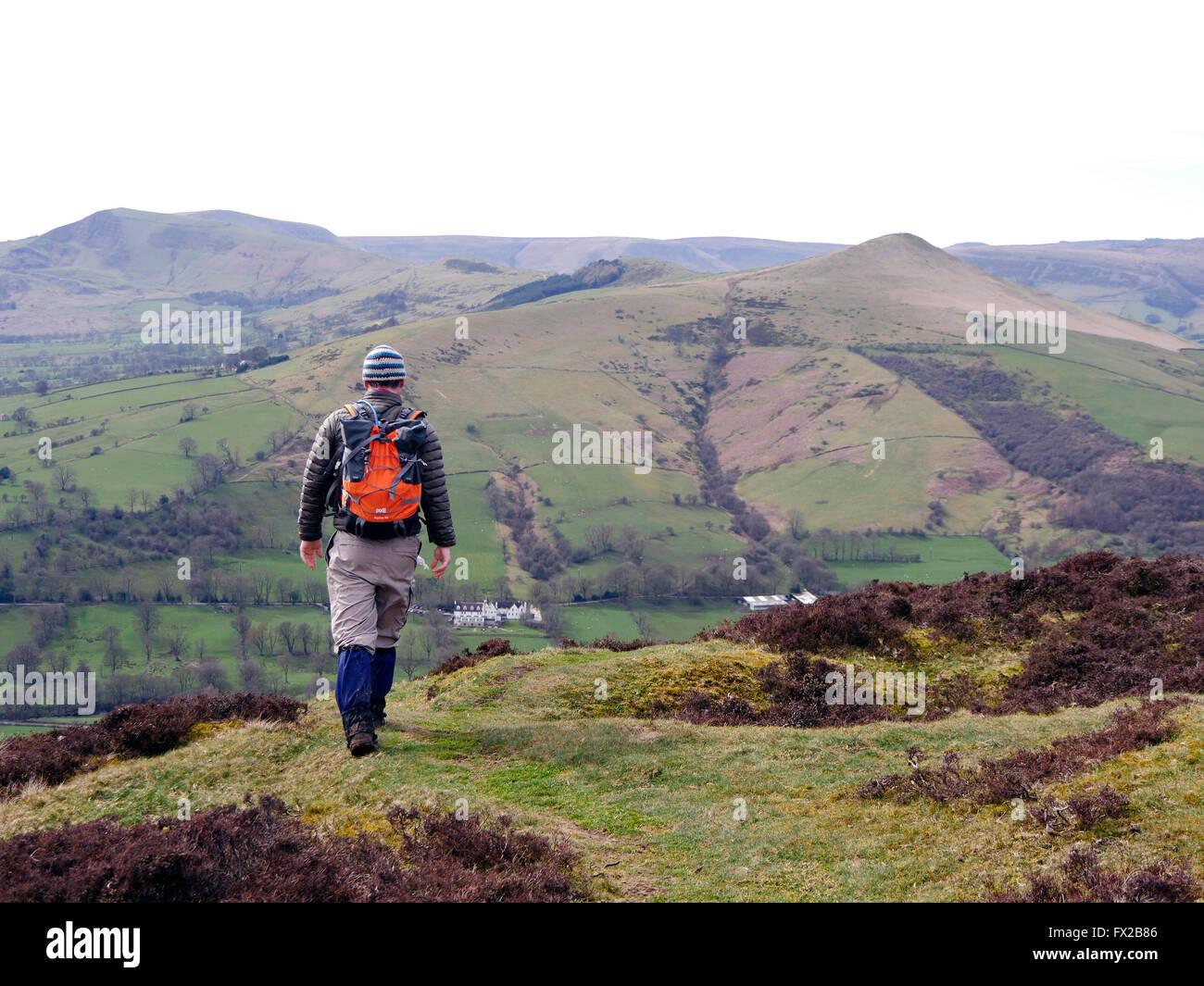Kinder Scout, Peak District National Park, Derbyshire - Stock Image