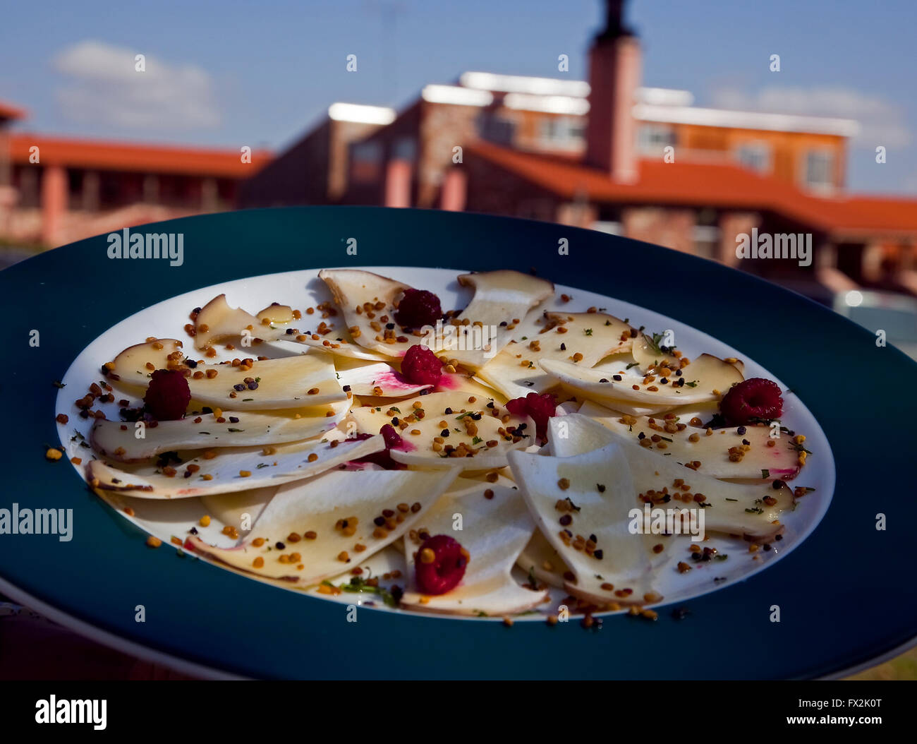 Recipe of cheese. Soria. Castile-leon. Spain - Stock Image