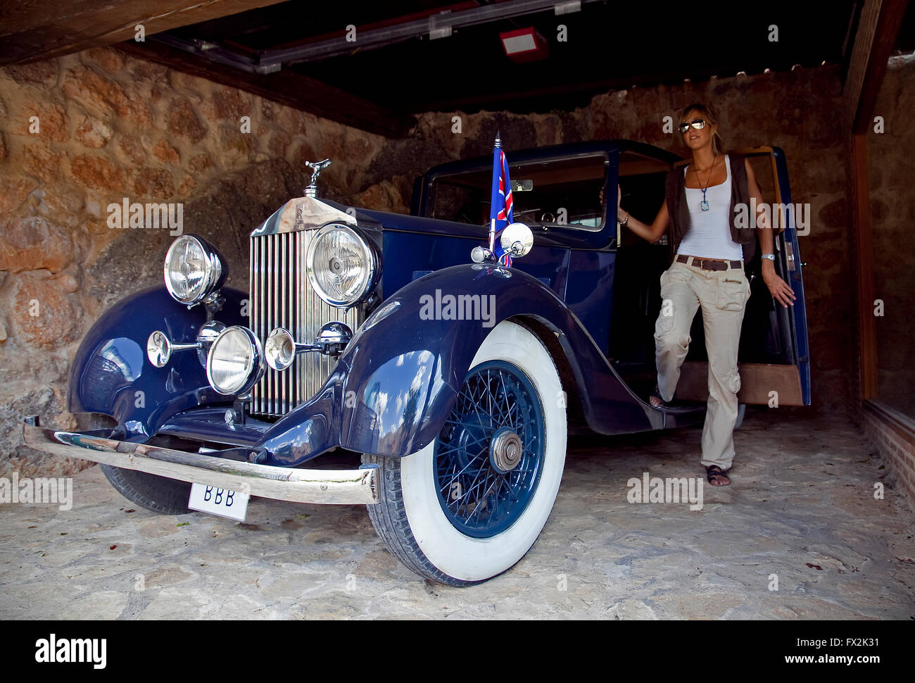 A 1936 rolls royce de 1936 the only one in spain posada - Posada santa quiteria ...