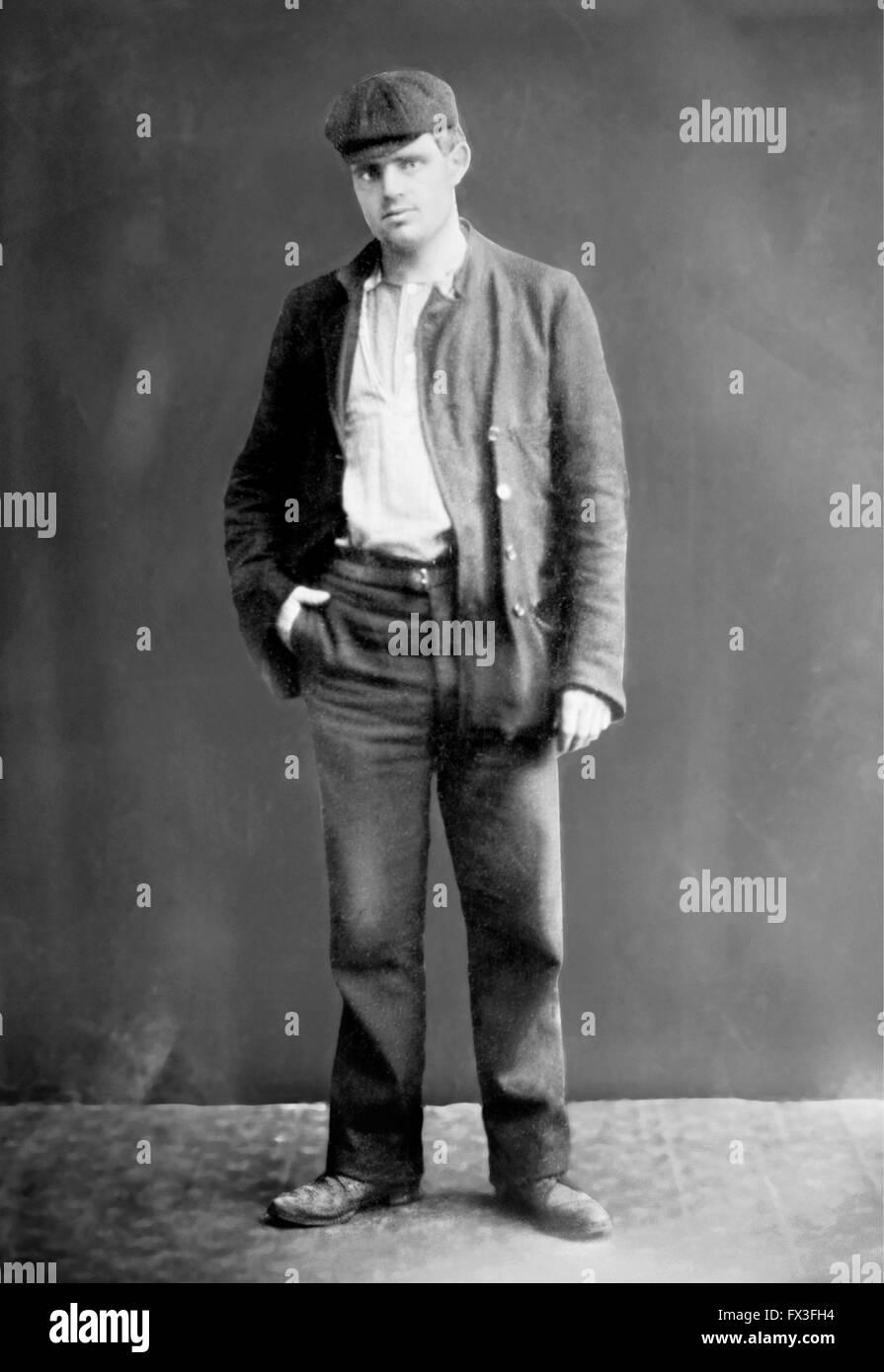 Jack London (1876-1916) - Stock Image