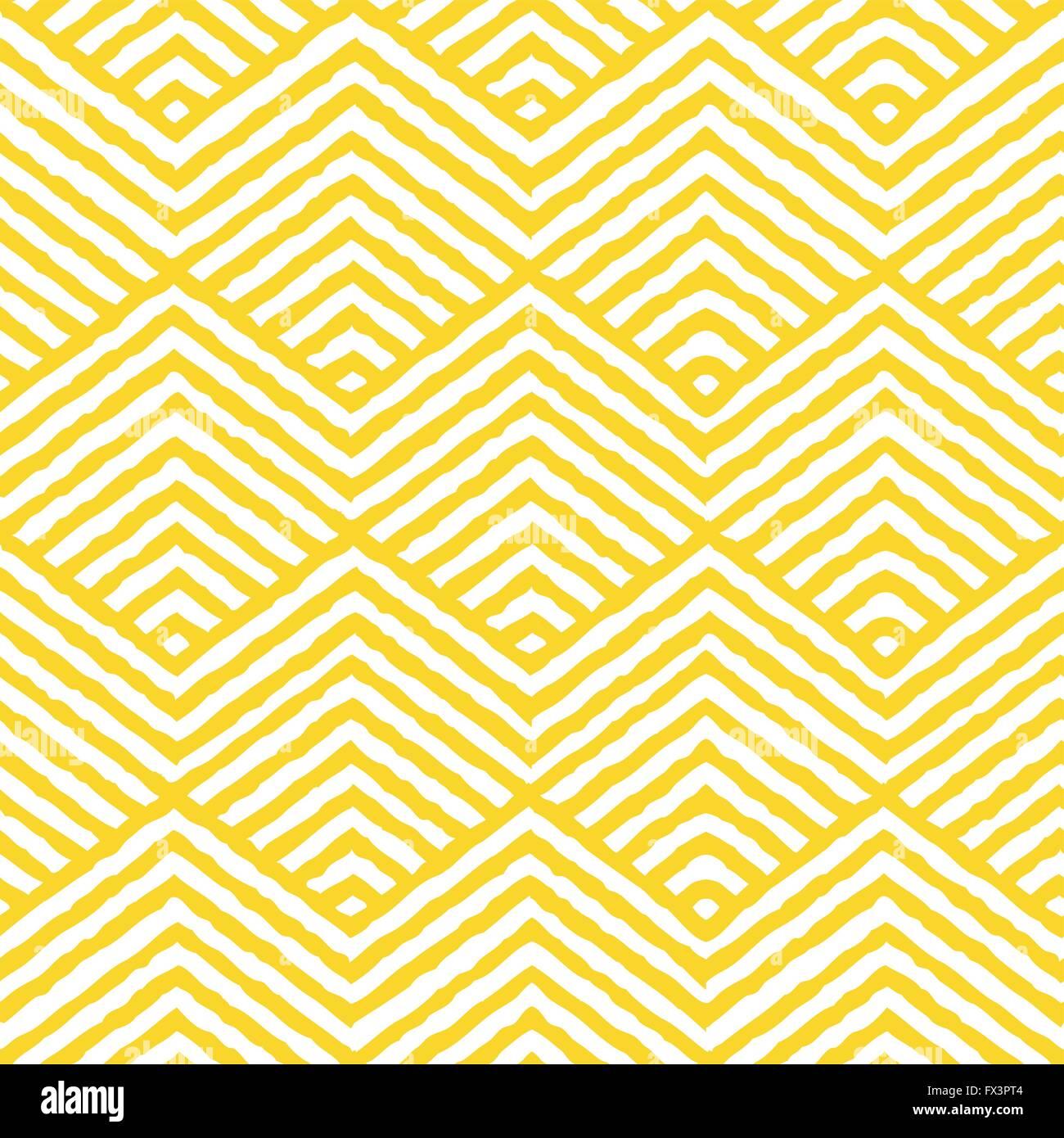 Seamless Vector Geometric Pattern. Repeating geometric texture pattern. Vector illustration. - Stock Image