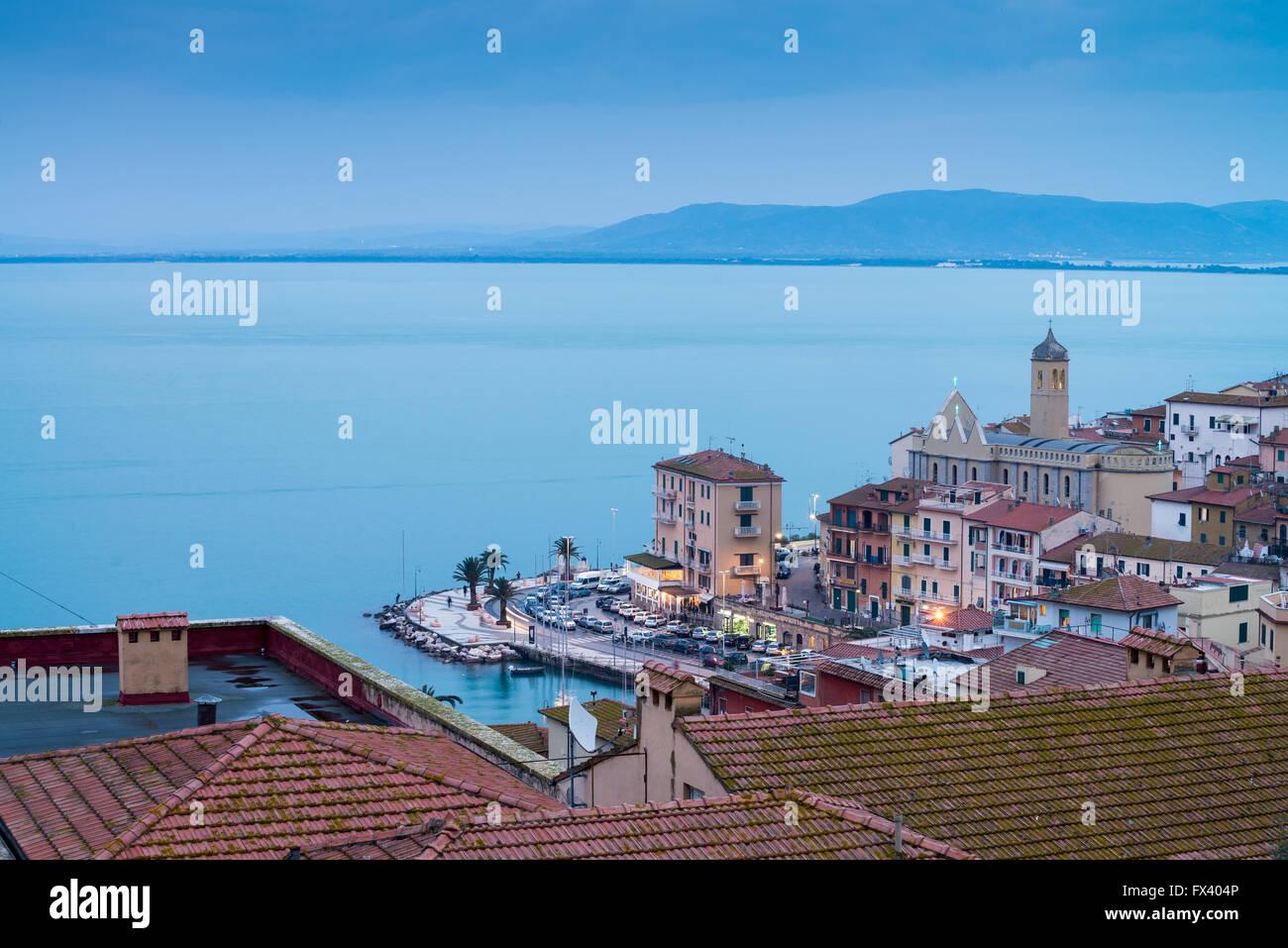 Porto Santo Stefano, Monte argentario, Province of Grosseto, Tuscany, Italy Stock Photo