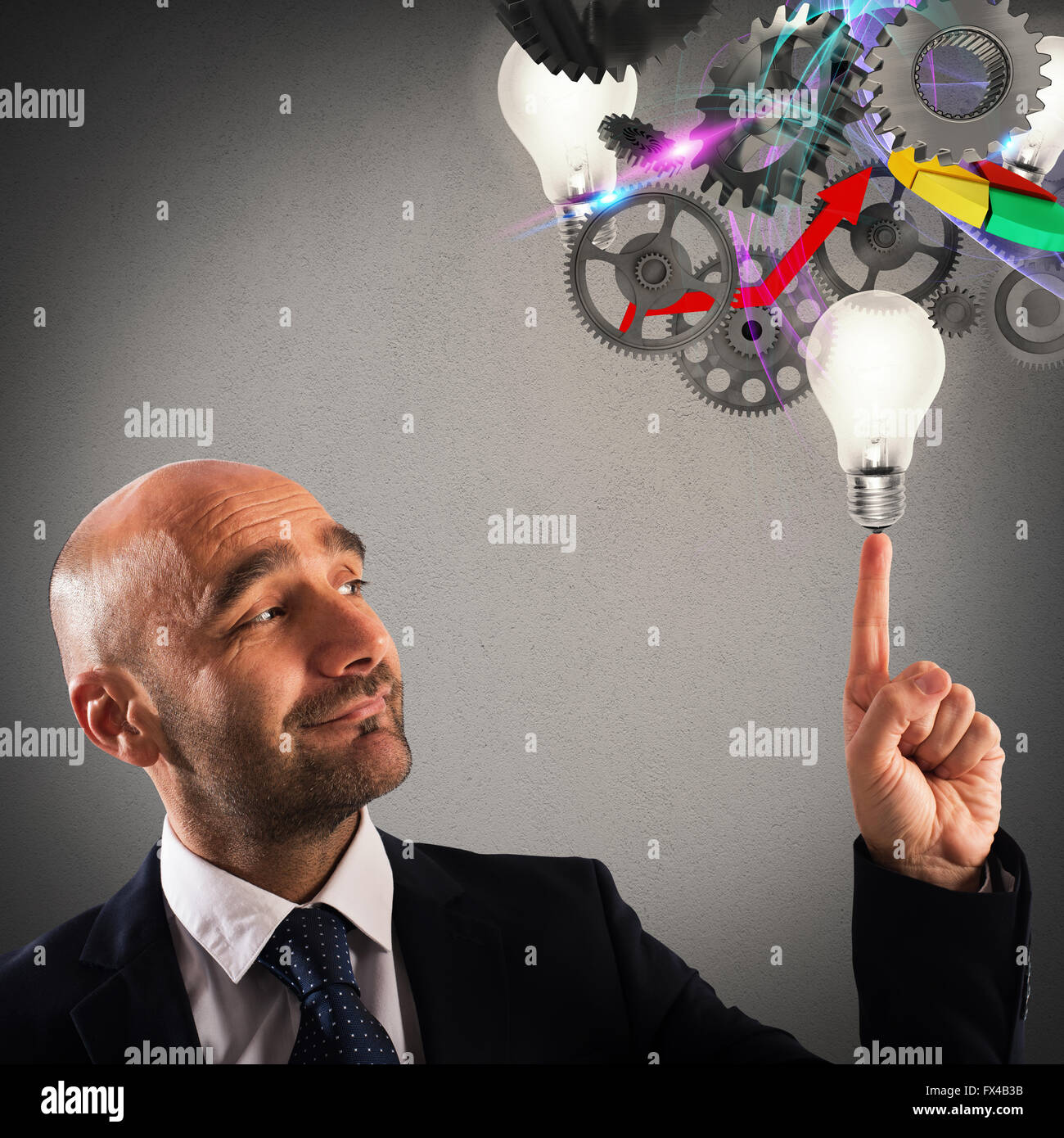 Develop an idea - Stock Image