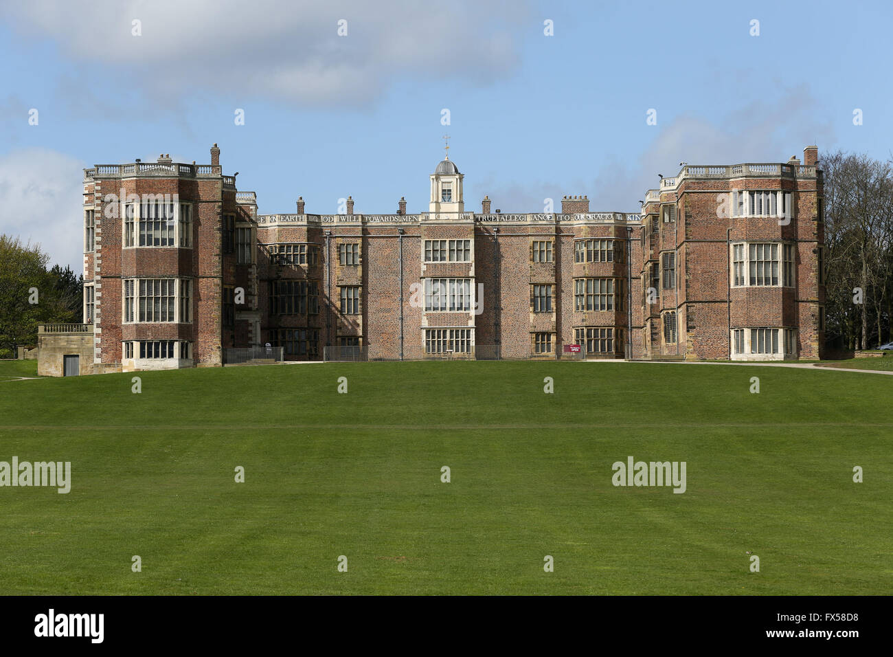 Temple Newsam house located just outside Leeds in West Yorkshire, UK.  Ian Hinchliffe / ianrichardhinchliffe.co.uk - Stock Image