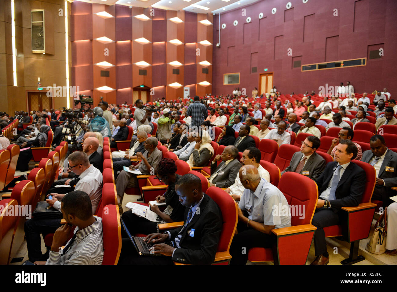 DJIBOUTI conference IGAD Business Forum 2015 / DSCHIBUTI Konferenz IGAD Business Forum 2015 - Stock Image