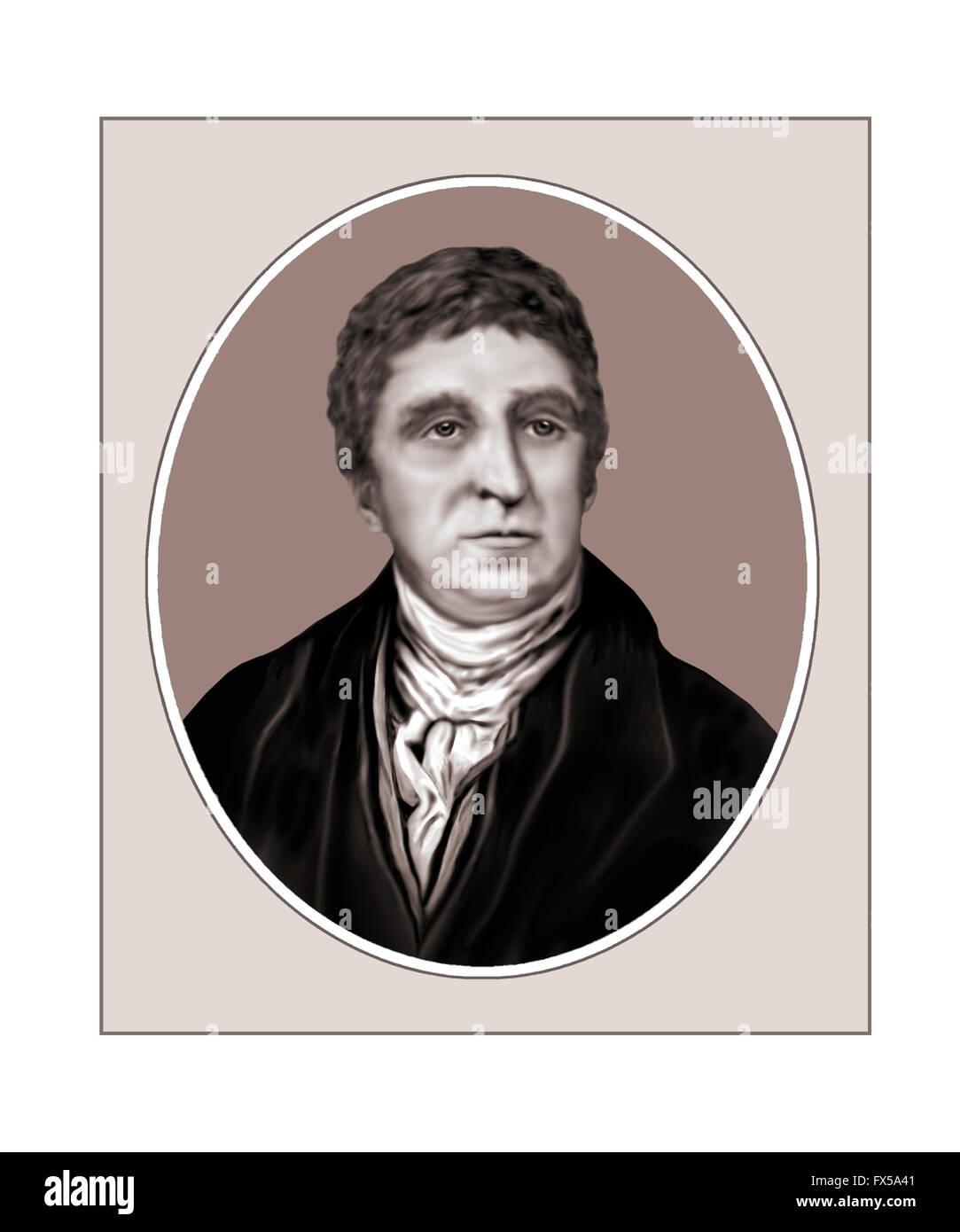 Thomas Telford, 1757-1834, Civil Engineer - Stock Image
