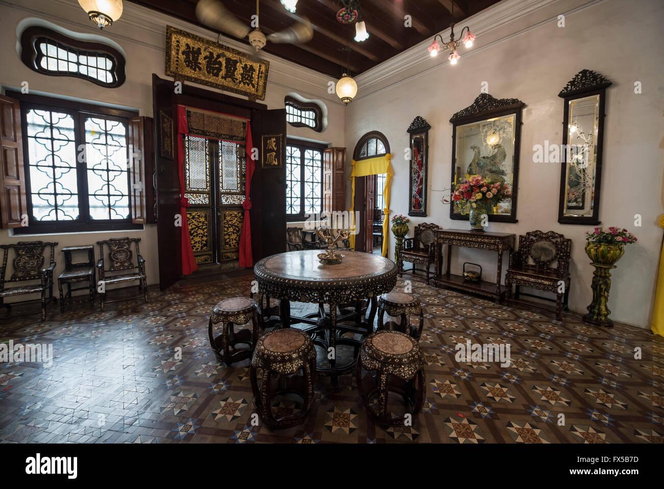Peranakan Mansion, George Town, Penang - Stock Image