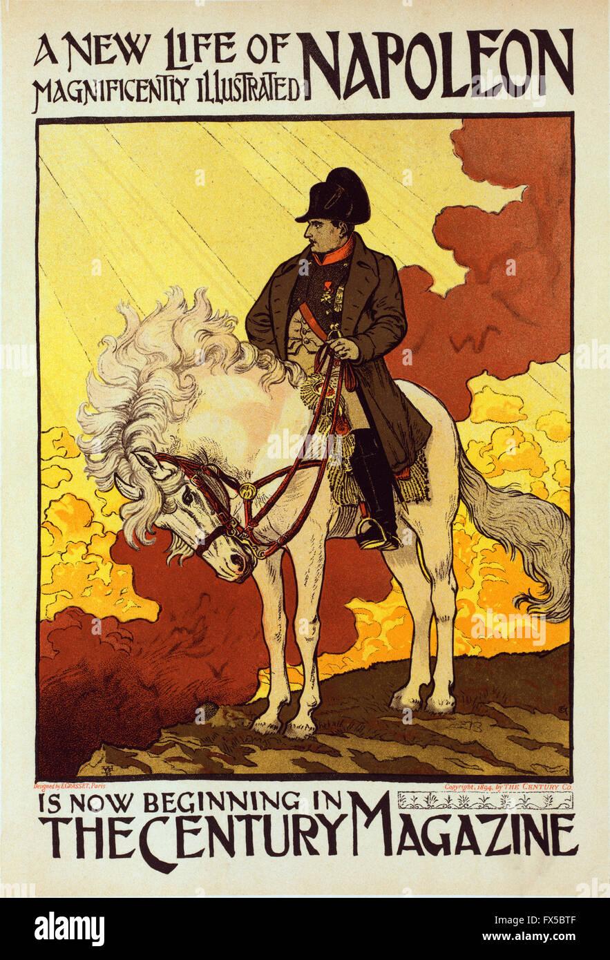 Eugene Grasset - A New Life Of Napoleon - Stock Image