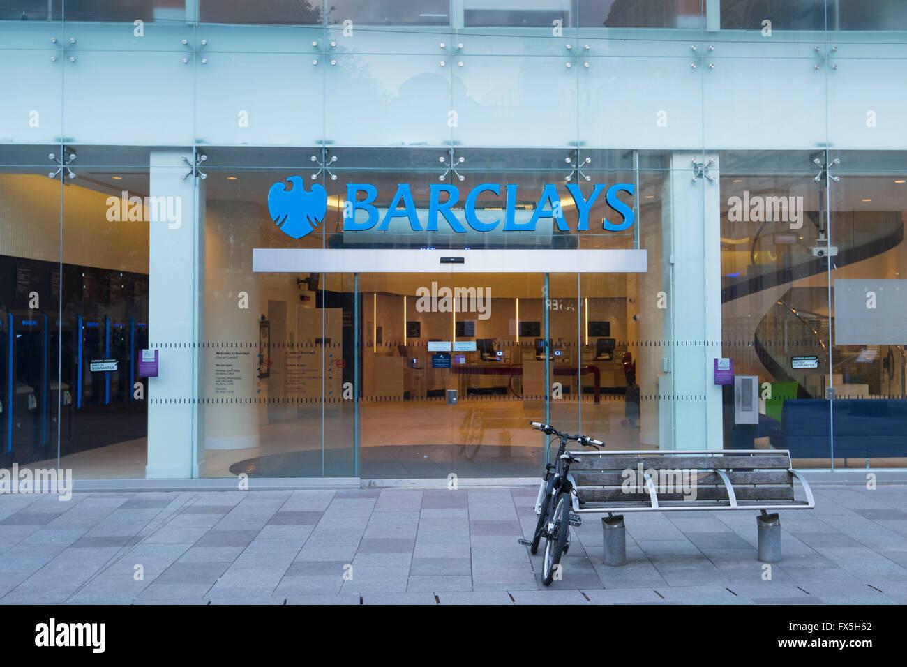 Barclays bank sign logo. - Stock Image